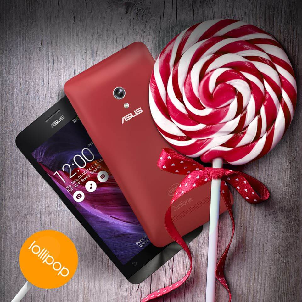 Asus Zenfone Resmi Lollipop Güncellemesi