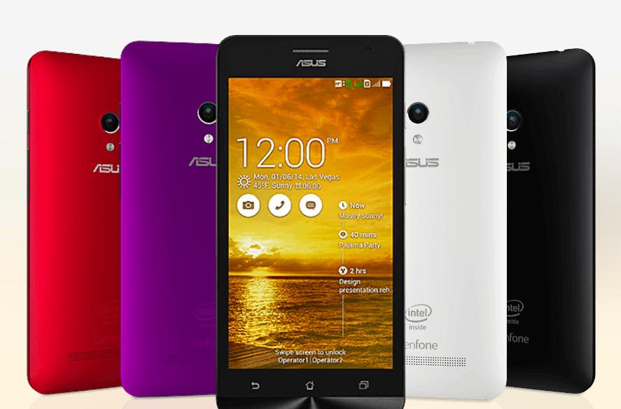 Asus,Zenfone 5, Zenfone 6,Android 5.0,Lolipop