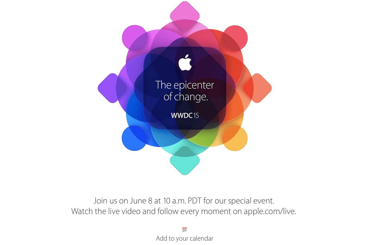 Apple WWDC 8 Mart 2015 Etkinliği
