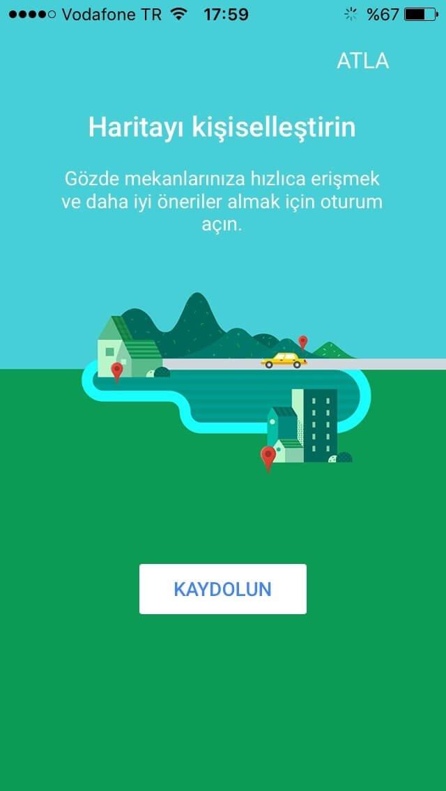 Google Haritalar Türkiye