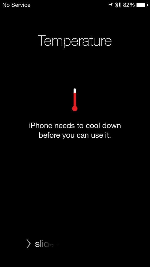 iphone aşırı ısınma