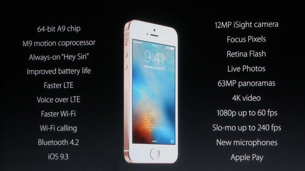 iphone-se-özellikler