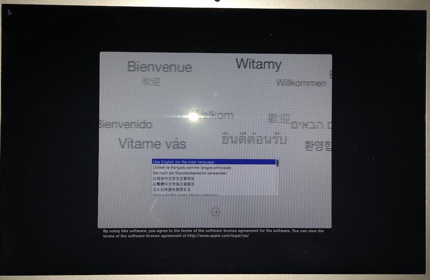 Mac OS X kullanıcı hesabı parola koyma, Mac kullanıcı hesabı parola sıfırlama