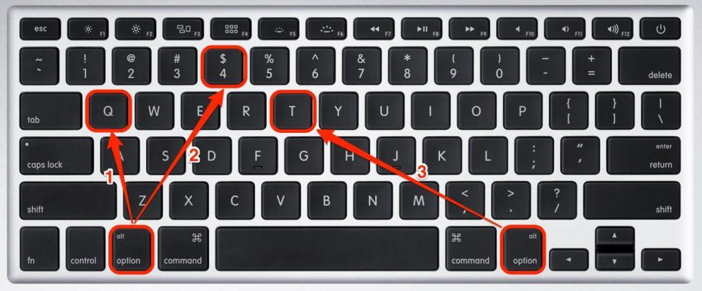 Mac klavye kısayolları, macbook klavye kısayollar, mac kısa yollar