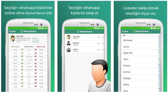 Whatsapp çevrimiçi bildirimi, whatsonline nedir ? Nasıl kullanılır ?
