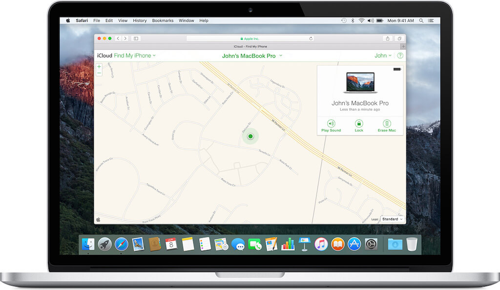 iPhone'umu Bul, Find My iPhone, Mac'imi bul, Find My Mac , Kaybolan maci bulmak