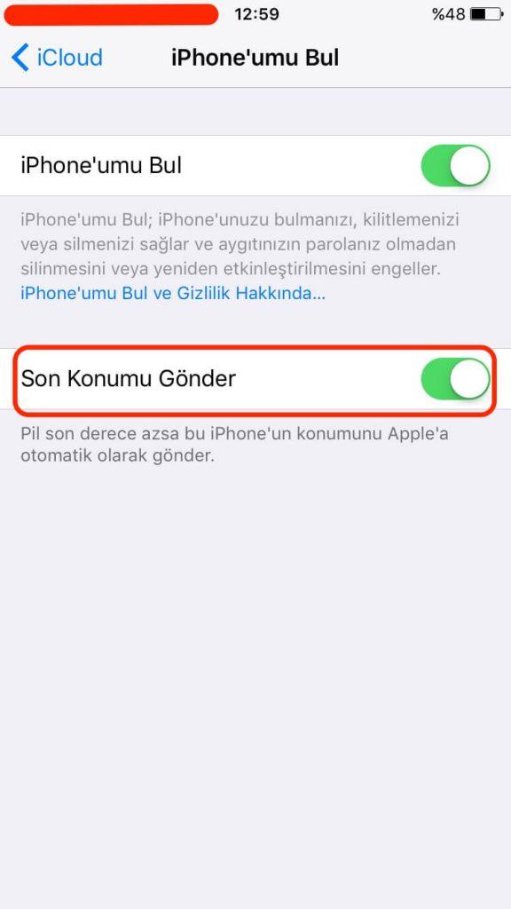 Kayıp iPhone, Bataryası biten iPhone nasıl bulunur ? Şarjı biten iPhone nasıl bulunur ? Kaybolan iPhone nasıl bulunur ?