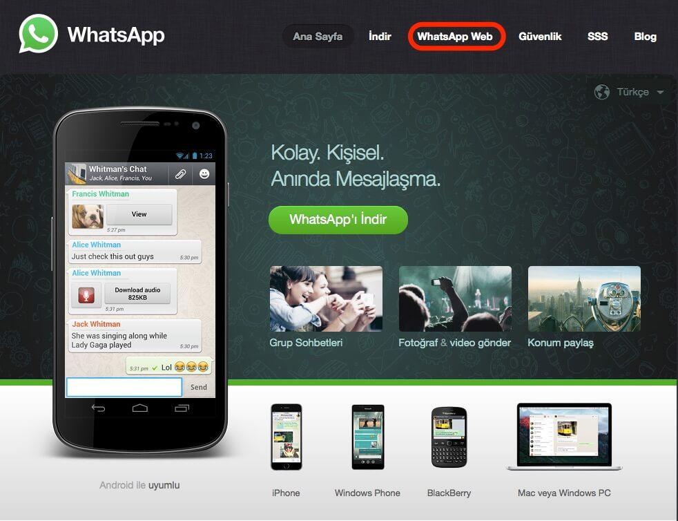 WhatsApp, Whatsapp çevrimiçi bildirimi, whatsapp son görülme bilgisi, whatsapp web