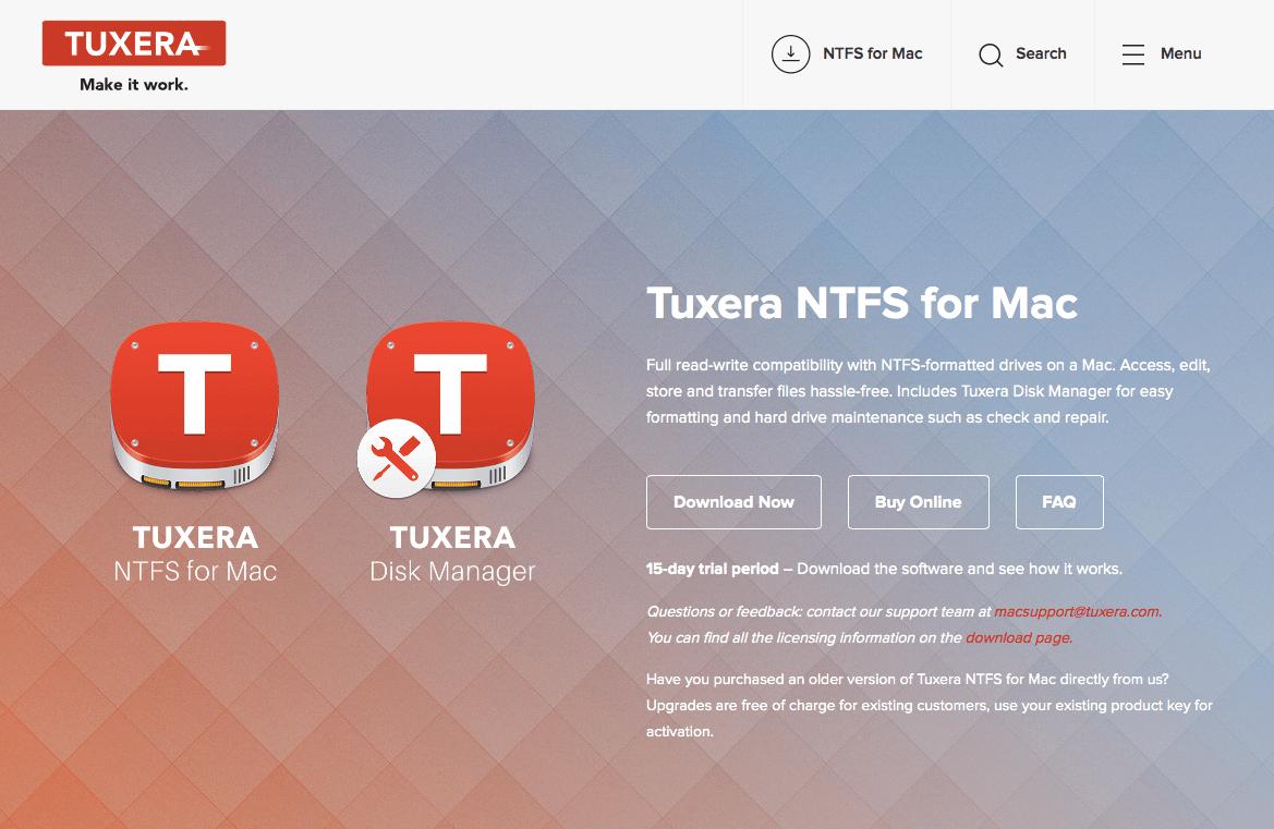 tuxera ntfs for mac 2016