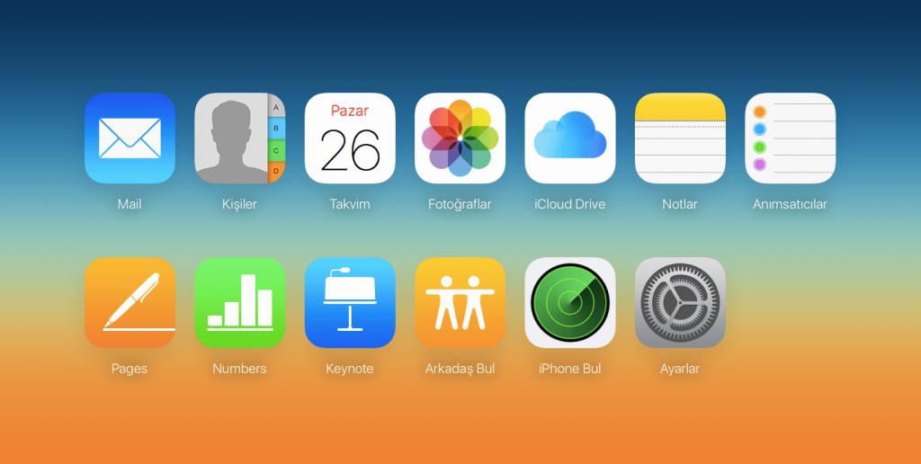 iCloud ile neler yapabilir siniz ?