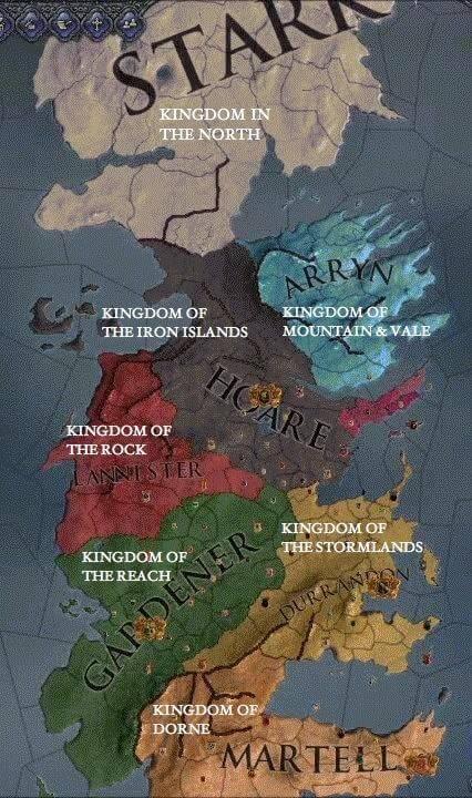 7 Kingomds, 7 Krallık