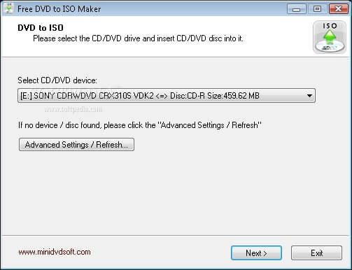 DVD to ISO Maker 1.2