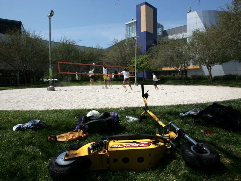 Google Mountain view Voleybol