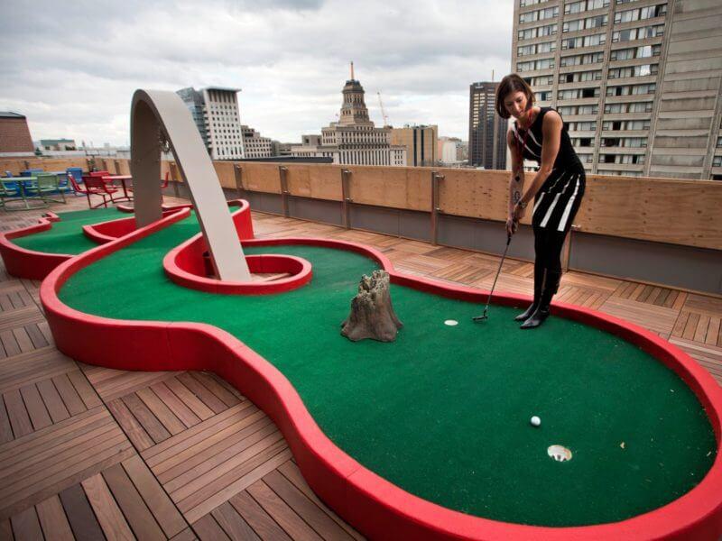 Google Toronto Mini Golf