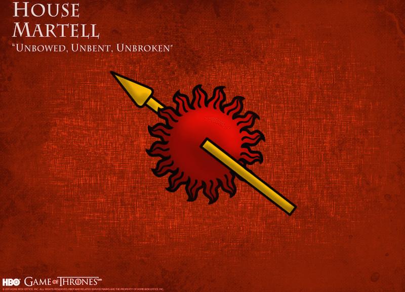 Martell Hanesi, House Martell