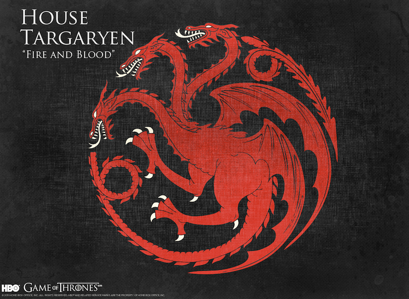 Targaryen Hanesi, House Targaryen