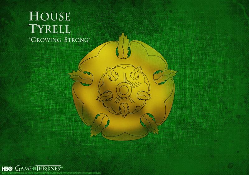 Tyrell Hanesi, House Tyrell