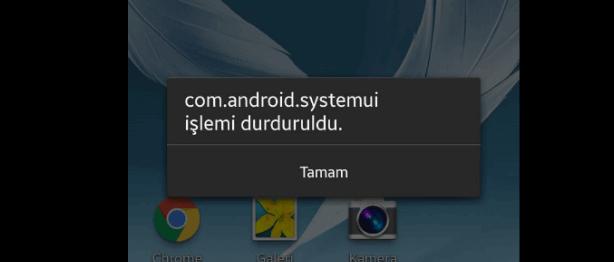 com.android.systemui hatası