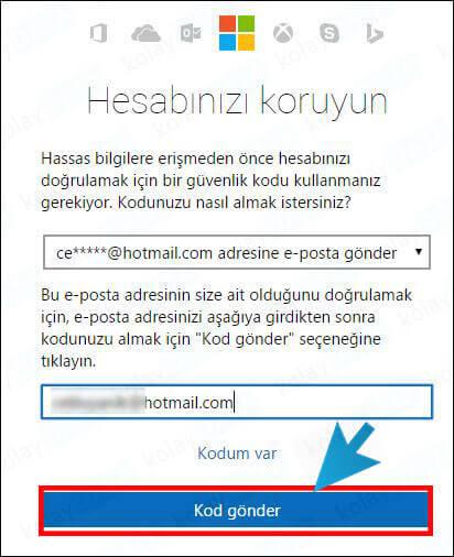hotmail-sifre-degistirme-nasil-yapilir