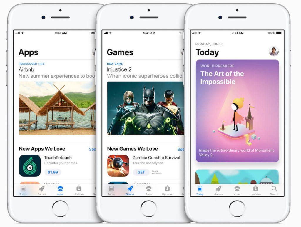 iOS 11 New Apple Store, Yeni Apple Store