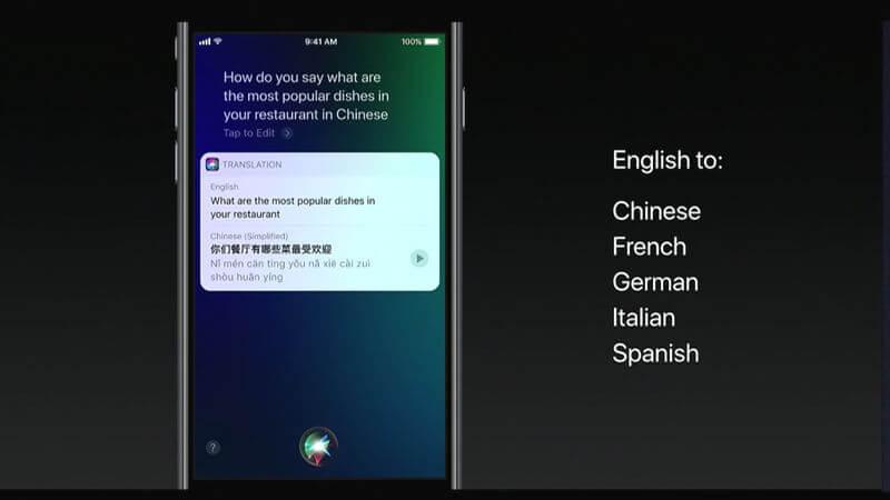 iOS 11 Yeni Siri