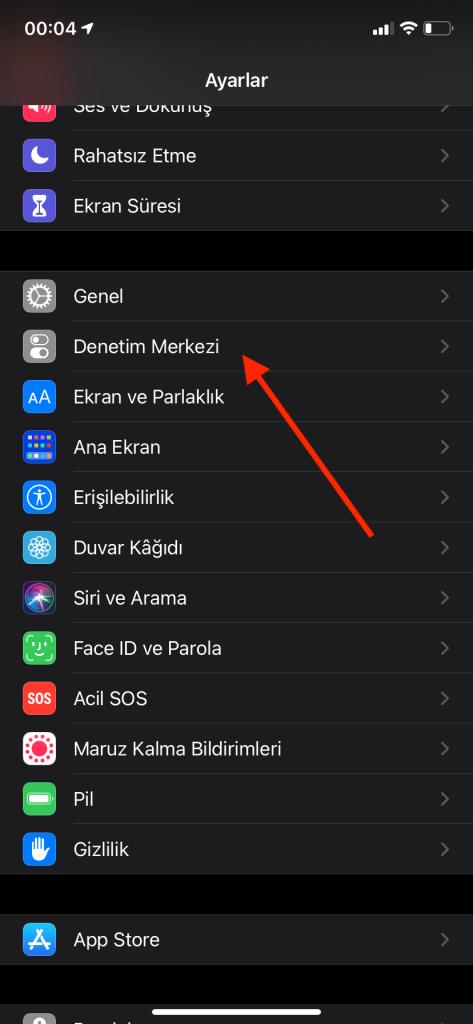 iPhone ekran kaydı – 6