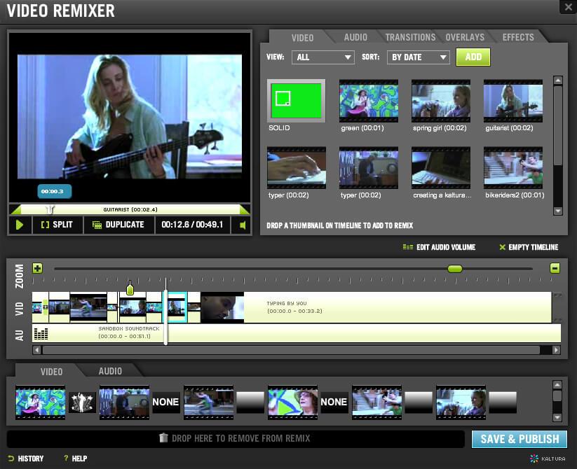 kaltura-video-editor