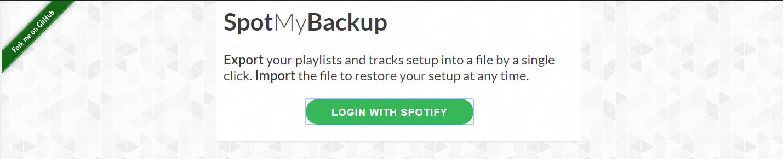 spotify-backup