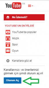 youtube kanal açma