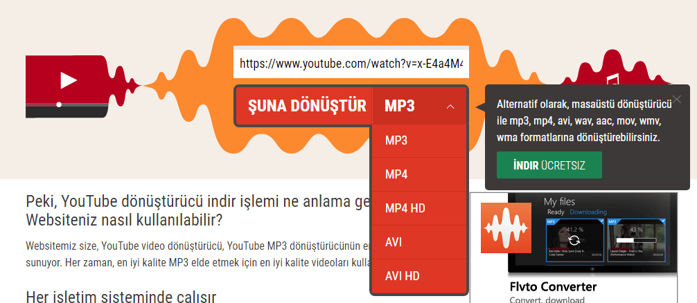 youtube-video-donusturucu